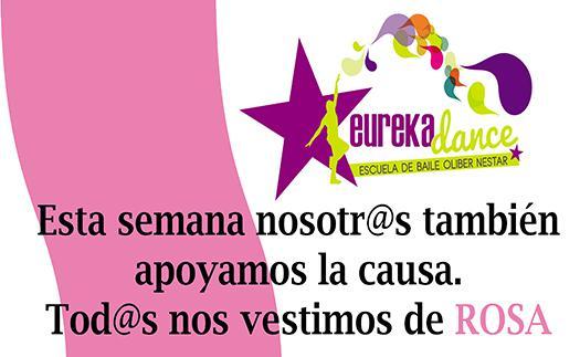 Actividad Eureka Dance se viste de rosa