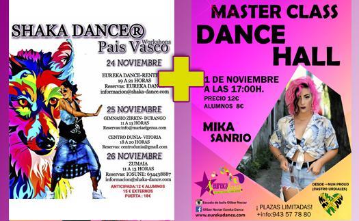 Actividad ¡Shaka-Dance y Dance Hall en la escuela!
