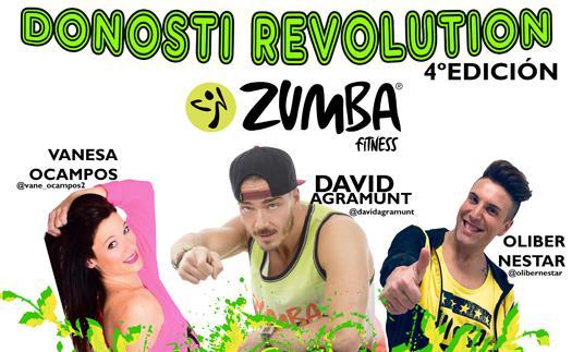 Actividad ¡Únete a la Revolución Zumba Fitness!