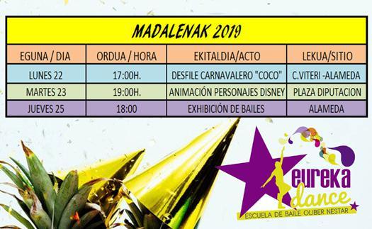 Actividad Gora Madalenak 2019!