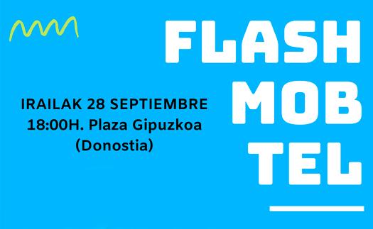 Actividad Flash mob solidaria. ¿Te apuntas?