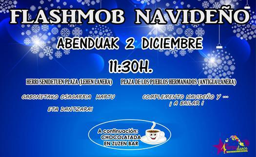 Actividad ¿Te vienes a la flashmob navideña?