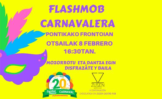 Noticia Flashmob especial 20 aniversario