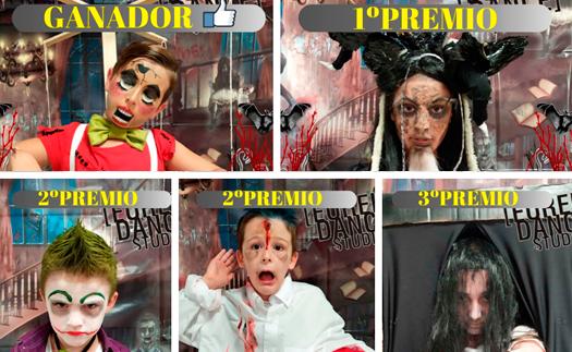 Actividad Ganadores Concurso Halloween