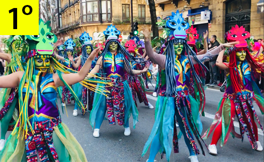 Actividad ¡Gran Premio al Carnaval Donostiarra!