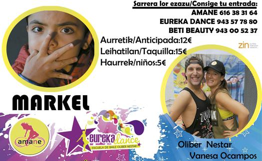 Actividad Máster solidaria por Markel