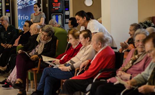 Actividad Eureka en 3 residencias de mayores