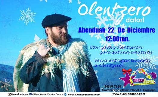 Actividad ¡Que viene el Olentzero!