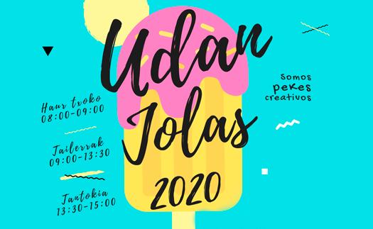 Noticia Udan Jolas 2020. ¡Inscríbete!