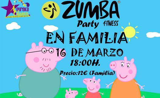 Actividad Zumba en familia (2ª edición)